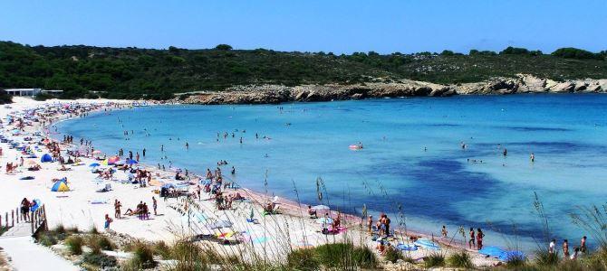 Menorca – Platja des Grau, Španělsko
