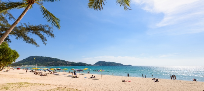 Phuket, pláž Patong, Thajsko