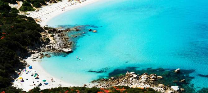 Pláž Giunco, Capo Carbonara, Sardínie