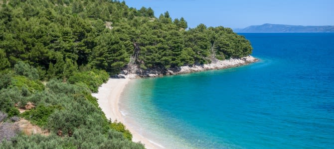 Brela – Punta Rata, Chorvatsko
