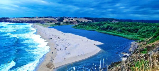 Sinemorec, Mouth Beach, Bulharsko