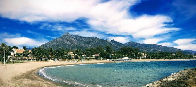 San Sebastian, La Concha Beach, Španělsko
