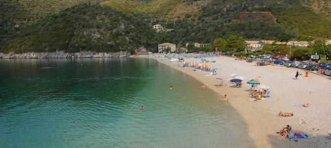 Mikros Gialos, Lefkada, Řecko