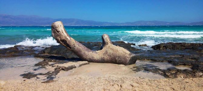 Ostrov Chrissi, Zlatá pláž, Řecko