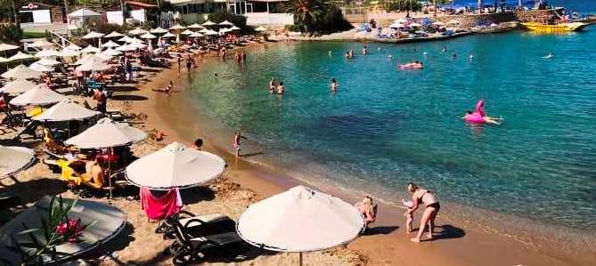Kréta, pláž Star Beach, Řecko