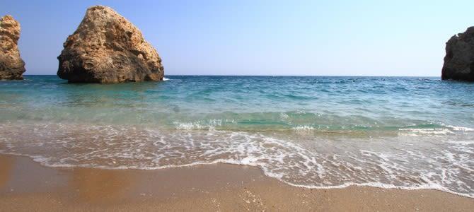 Xinovrisi, Potistika beach, Řecko