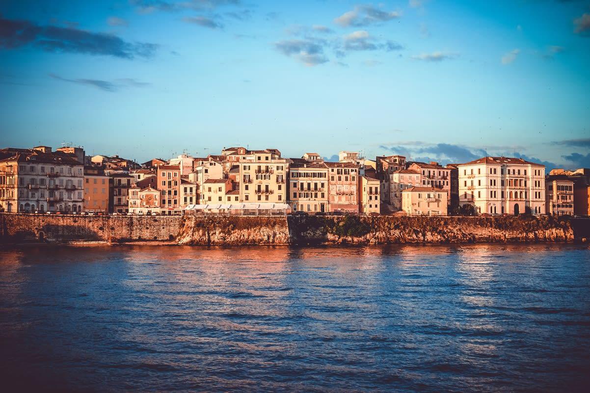 Korfu - staré město