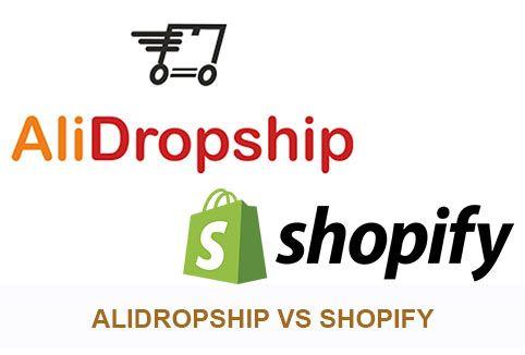 Alidropship vs Shopify