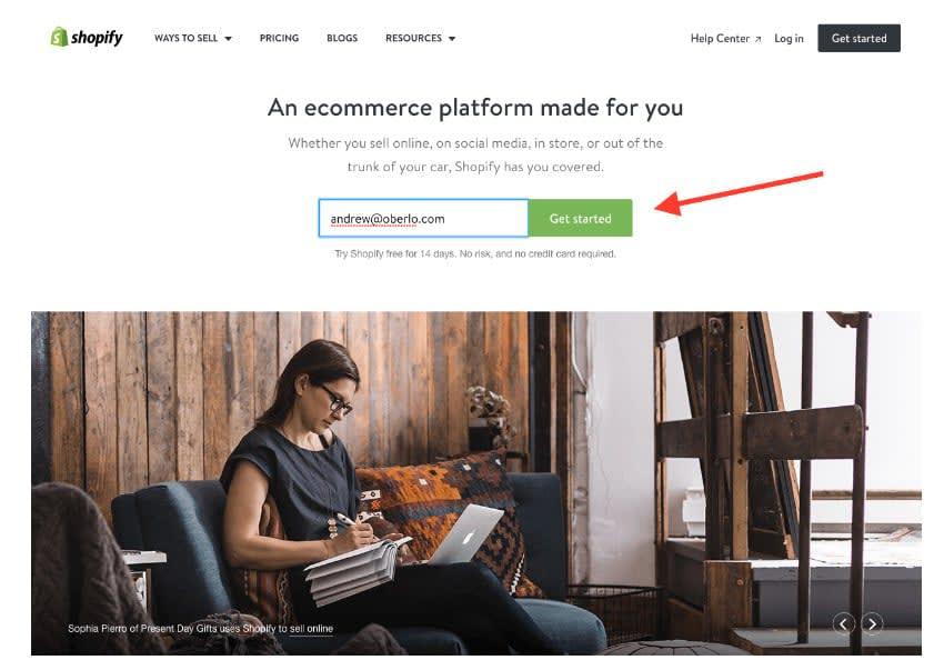 Дропшиппинг магазин Shopify - полное руководство