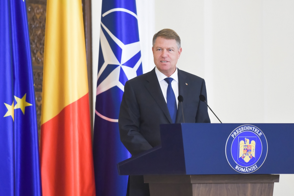 ARCS Co-Founders Ileana Marin and Otilia Baraboi Receive the Order of Merit in Education at the Rank of Cavalier from the Romanian President, Mr. Klaus Iohannis