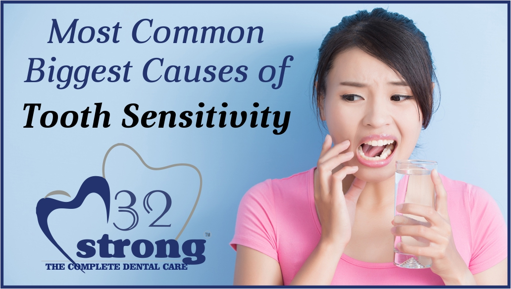 Most Common Biggest Causes of Tooth Sensitivity