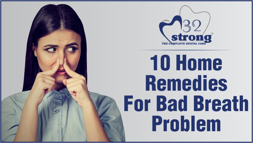 10 home remedies for bad breath problem