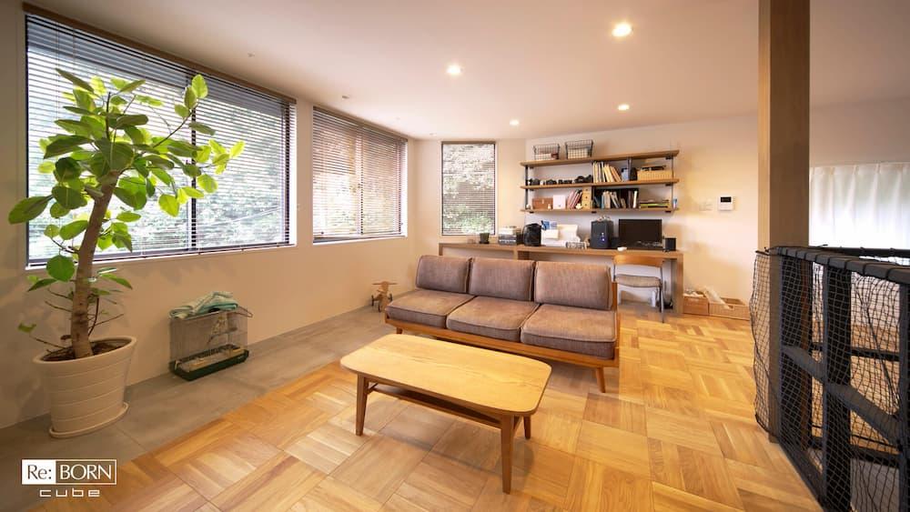 住宅会社、レンタルスペース事業者が提供しているバーチャル背景用画像