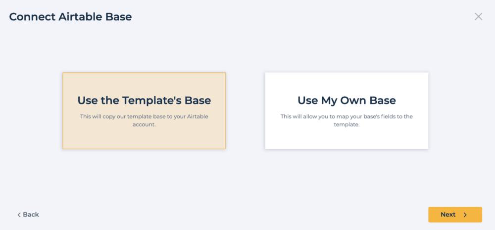 Softr + Airtableでサンプルサイト構築