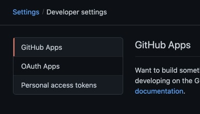 Git Personal access tokens