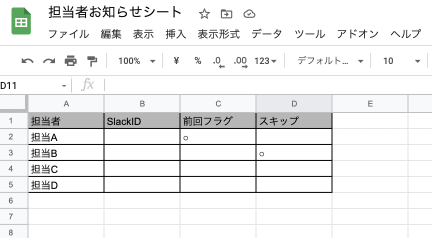 GAS(Google Apps Script)を使って掃除当番を順番でSlackに通知する方法