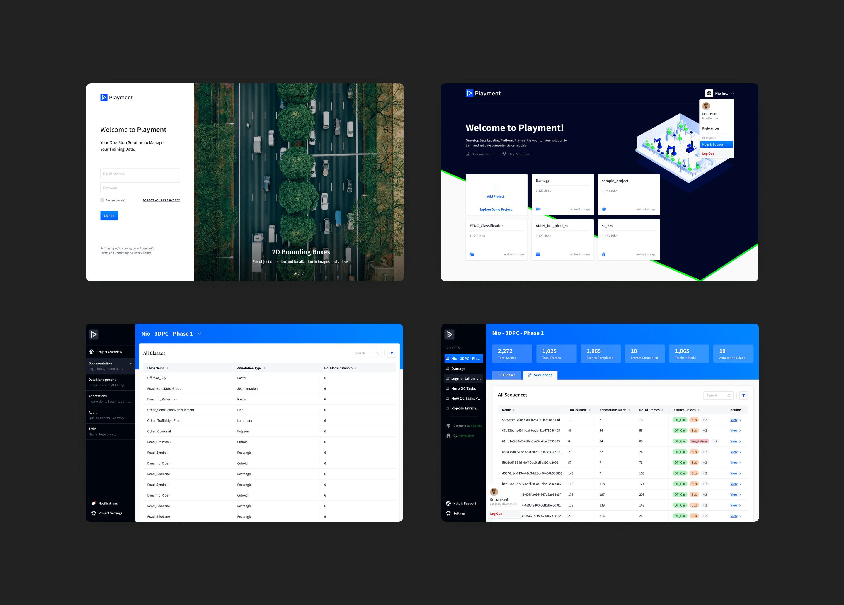Playment is a fully managed data labeling platform that generates training data for computer vision models at scale using crowdsourcing. Product Design, UX Design