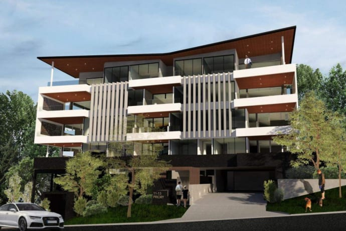 Arcadia Apartments - 11-13 Priory Street, Indooroopilly