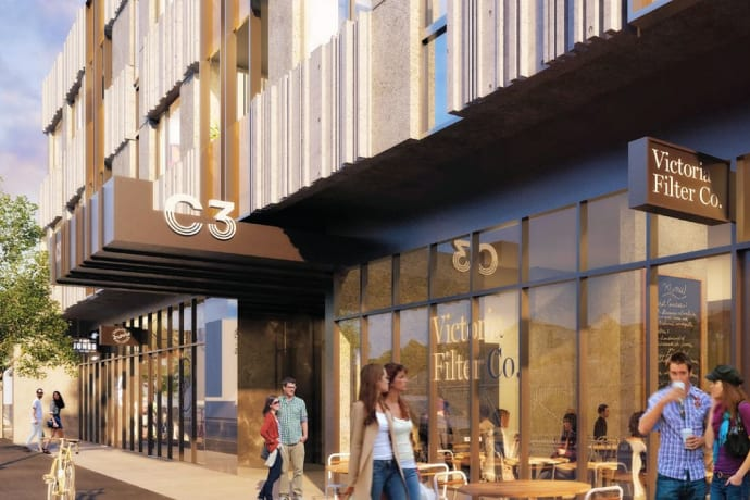 C3 Apartments - 300 Victoria Street, Brunswick