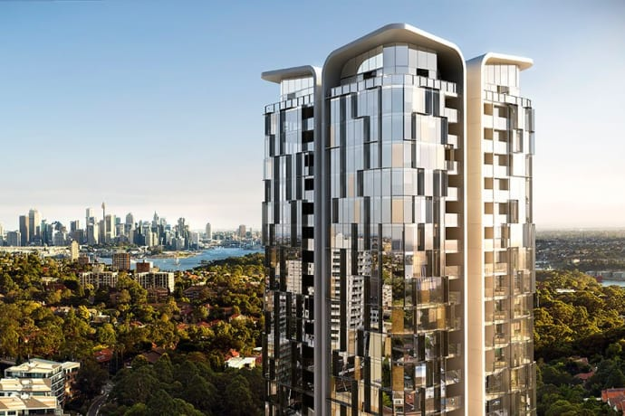 Embassy Tower - 1-13 Marshall Avenue, St Leonards