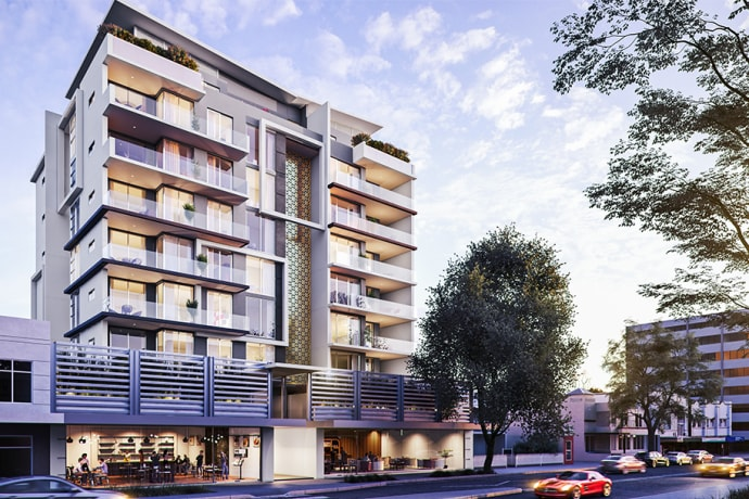 Parkland Residences - 50-54 Burwood Road, Burwood