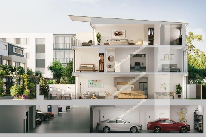Peninsula Terraces - 53 Harbourview Drive, Hope Island