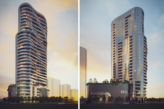 Peninsula Tower 6 - Bow River Crescent, Burswood