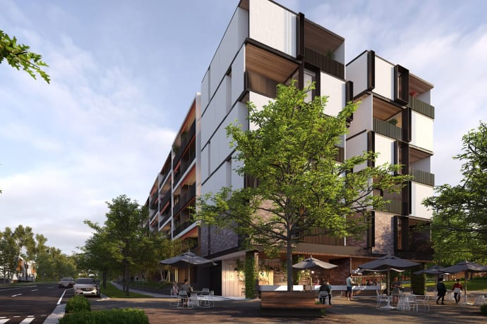 Plaza Garden Apartments (Burwood Brickworks) - 78 Middleborough Road, Burwood East