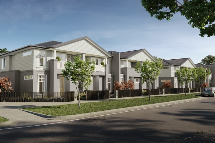 Riverbrook Townhomes at The Grove - 1 Elvire Street, Tarneit