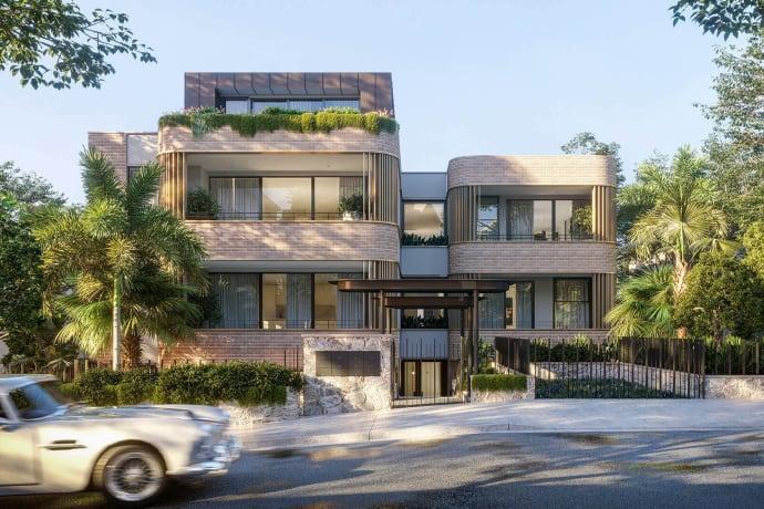 The Harriette Residences - 9 Harriette Street, Neutral Bay