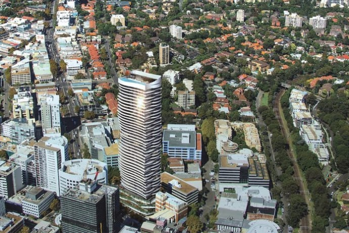 The Landmark - 500 Pacific Highway, St Leonards