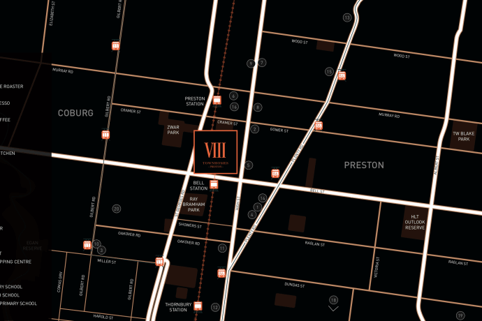 VIII Townhomes - 2 Bruce Street, Preston