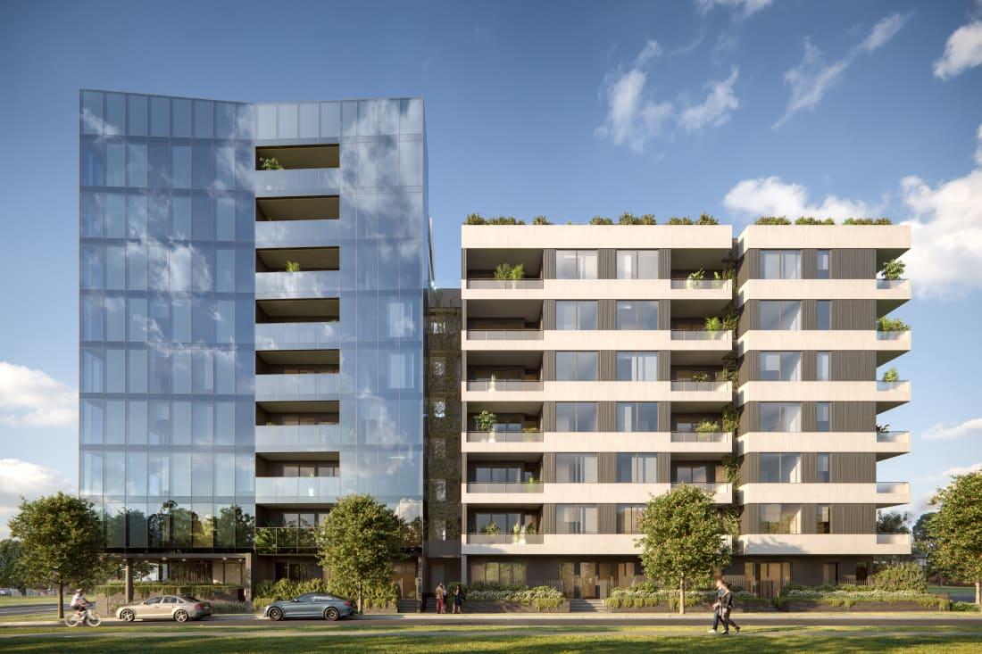 Huntington Apartments, Jackson Green - 1408-1418 Centre Road, Clayton South