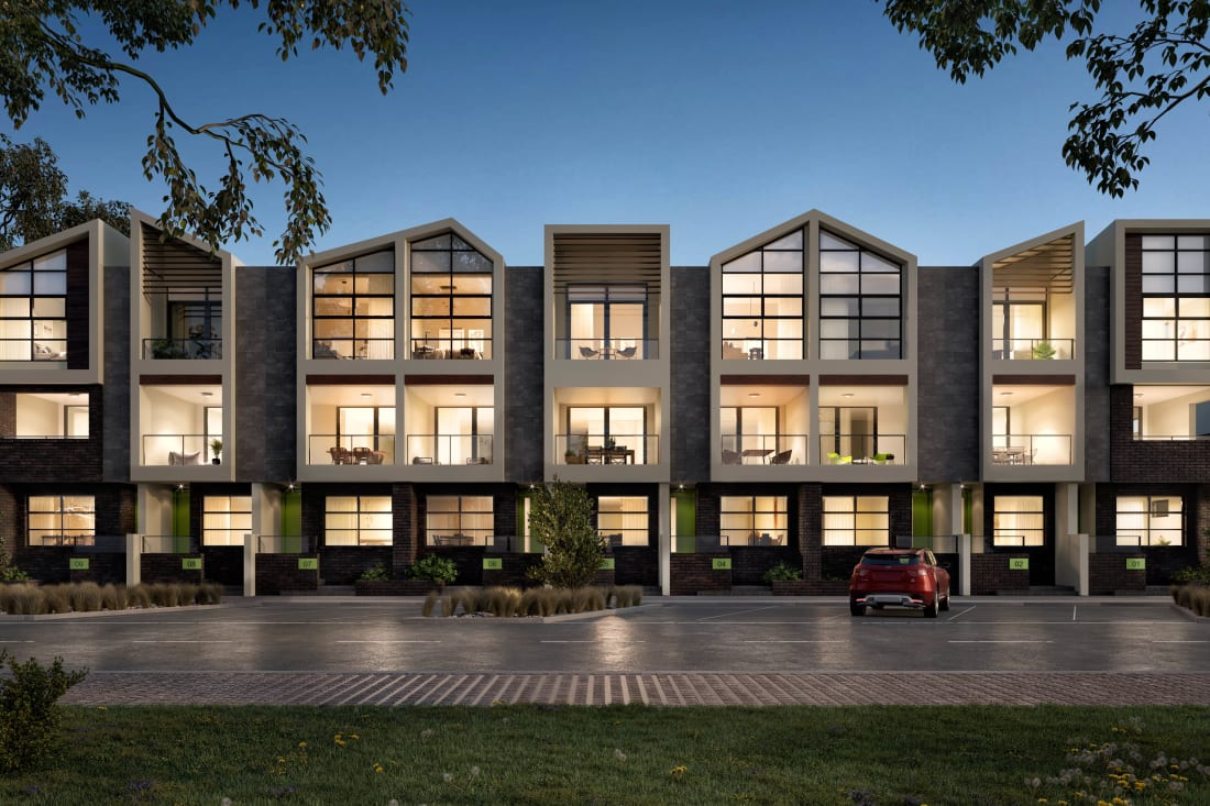 Piper Townhomes at Waterline Place - Nelson Place