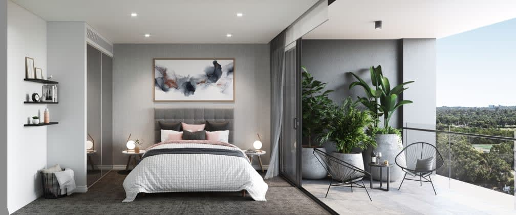 Introducing a new era in master-plan living at Destination, Macquarie Park with prices from $600,000