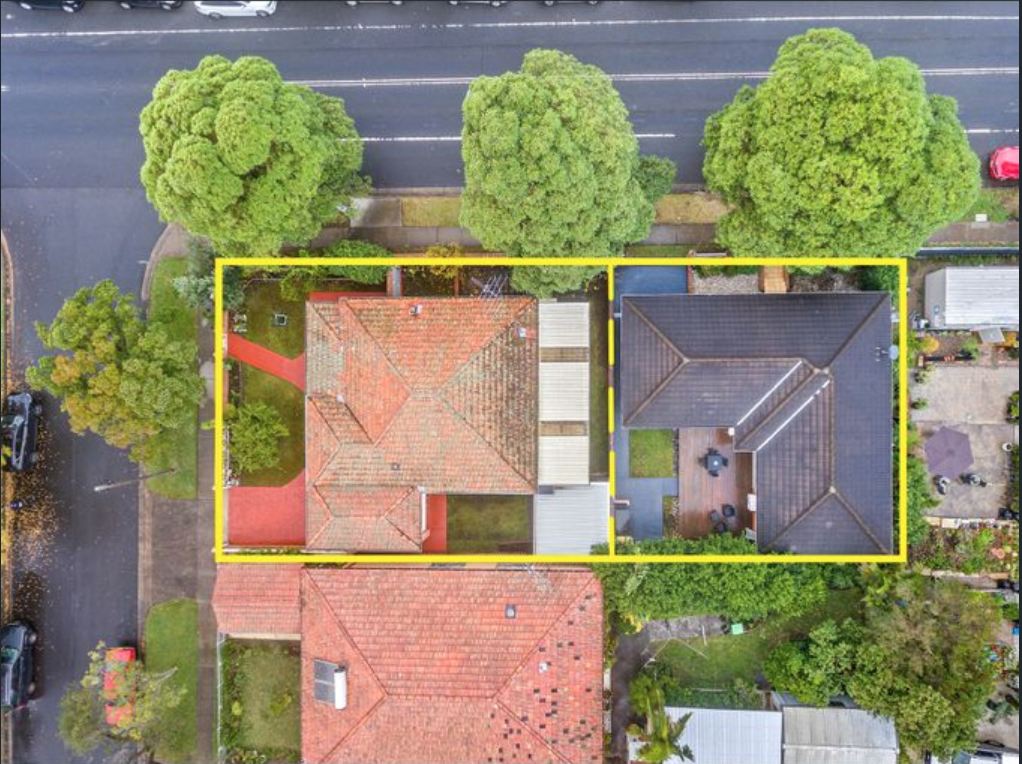 Two Strathfield South mortgagee homes on one title sold