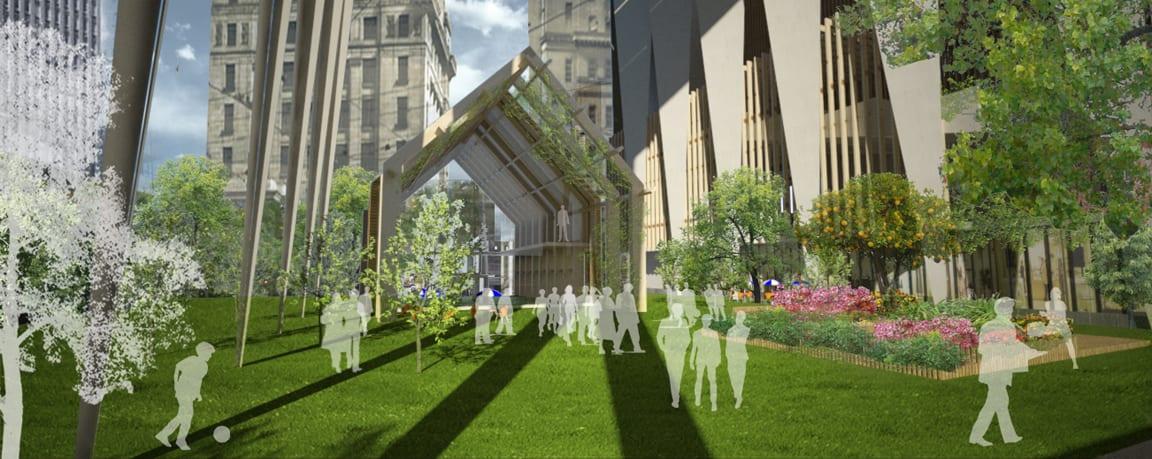 Blockhead Concept - 447 Collins Street / Market Square