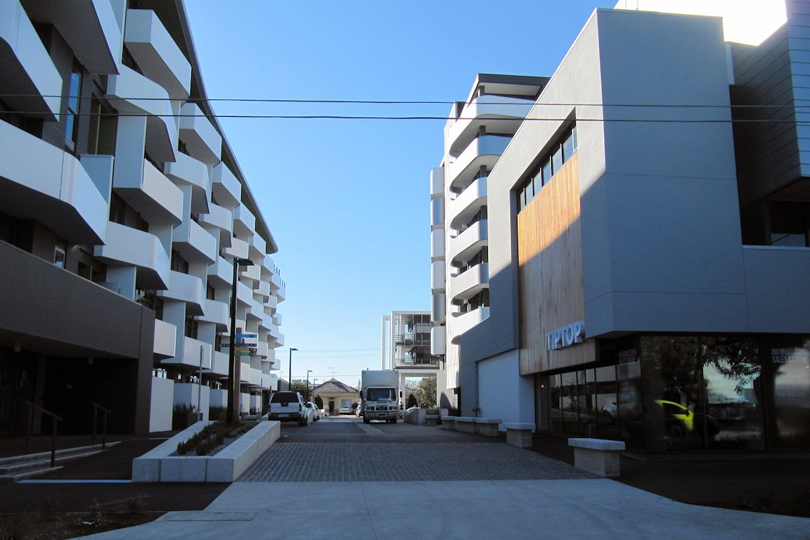Public permeability and the Tip Top Brunswick East development