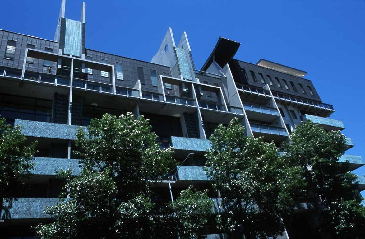 Melbourne Terrace Apartments - a close up