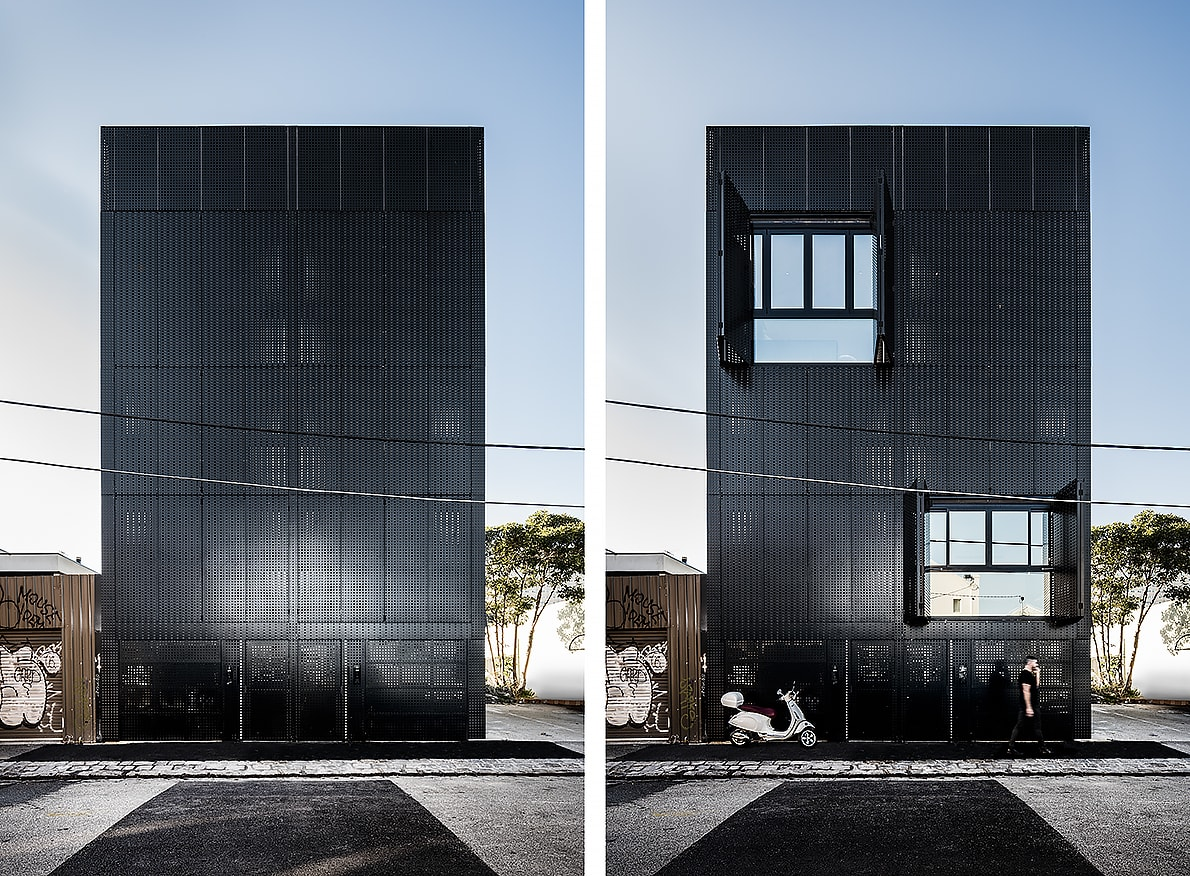 DKO and Slab Architecture snare gold for Campbell Street