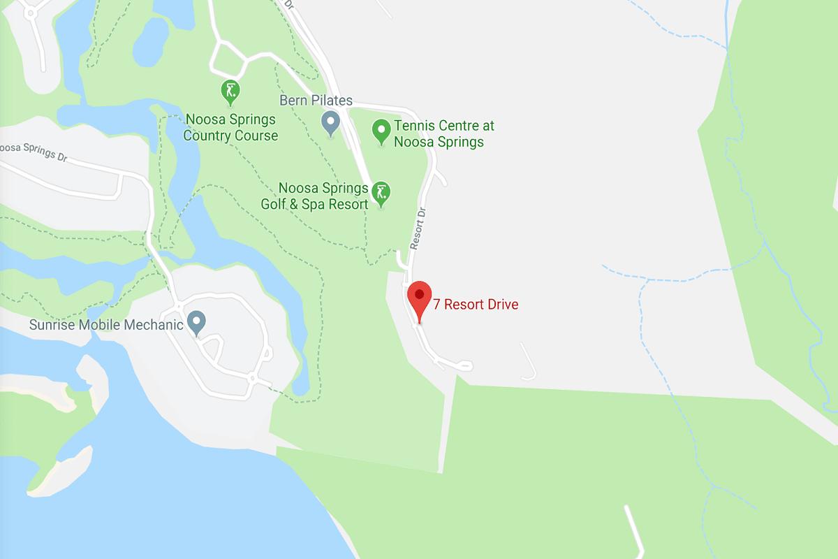 Parkridge Noosa location