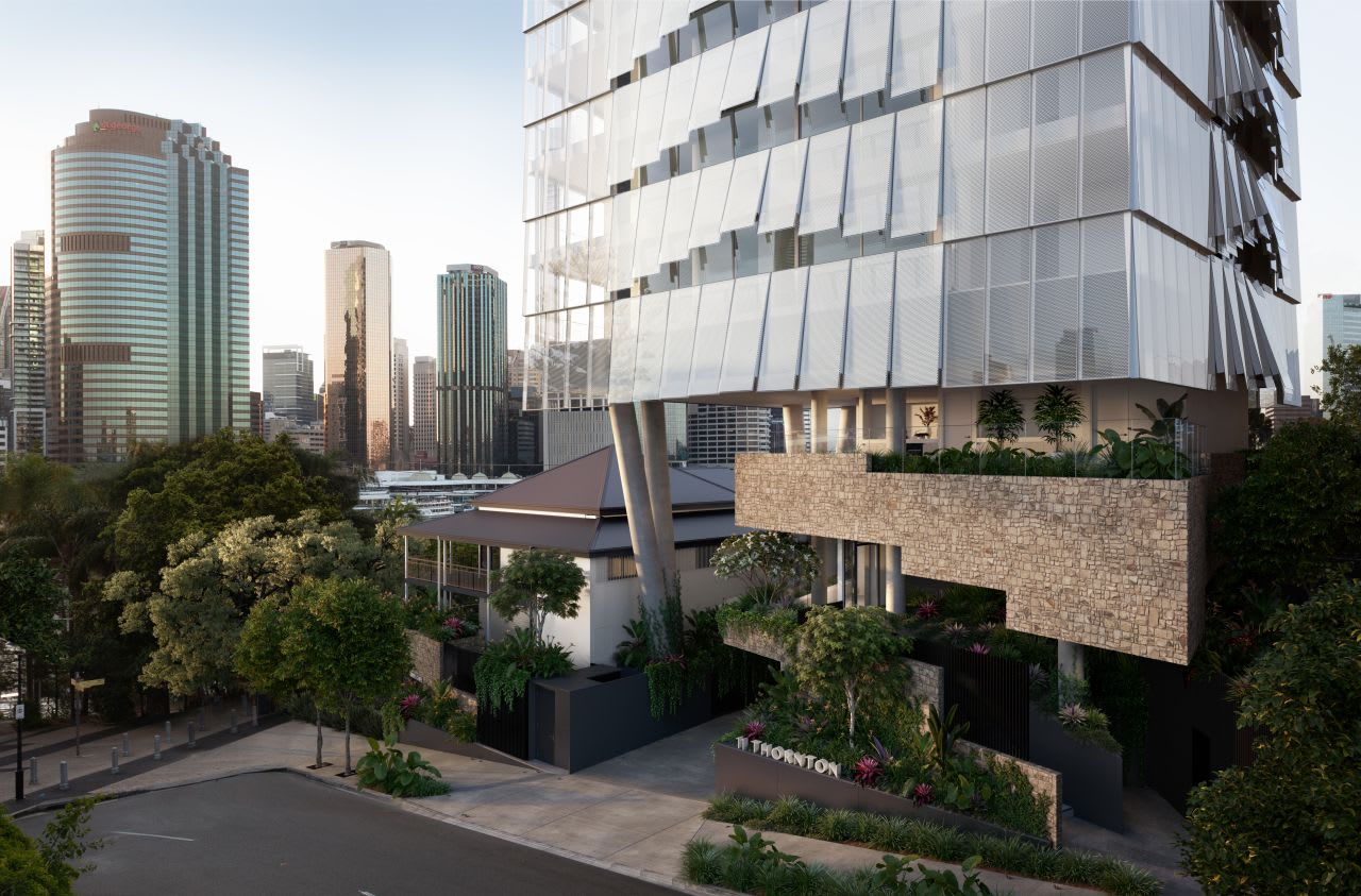 JGL Properties Kangaroo Point project Thornton; Tatts Group Albion site plans Lodged