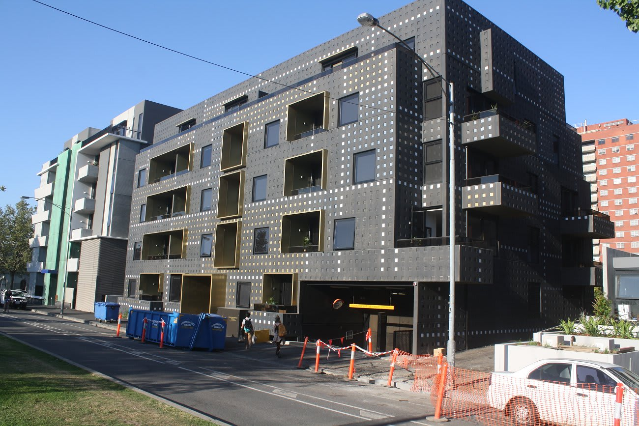 New apartment meets old commission in Carlton