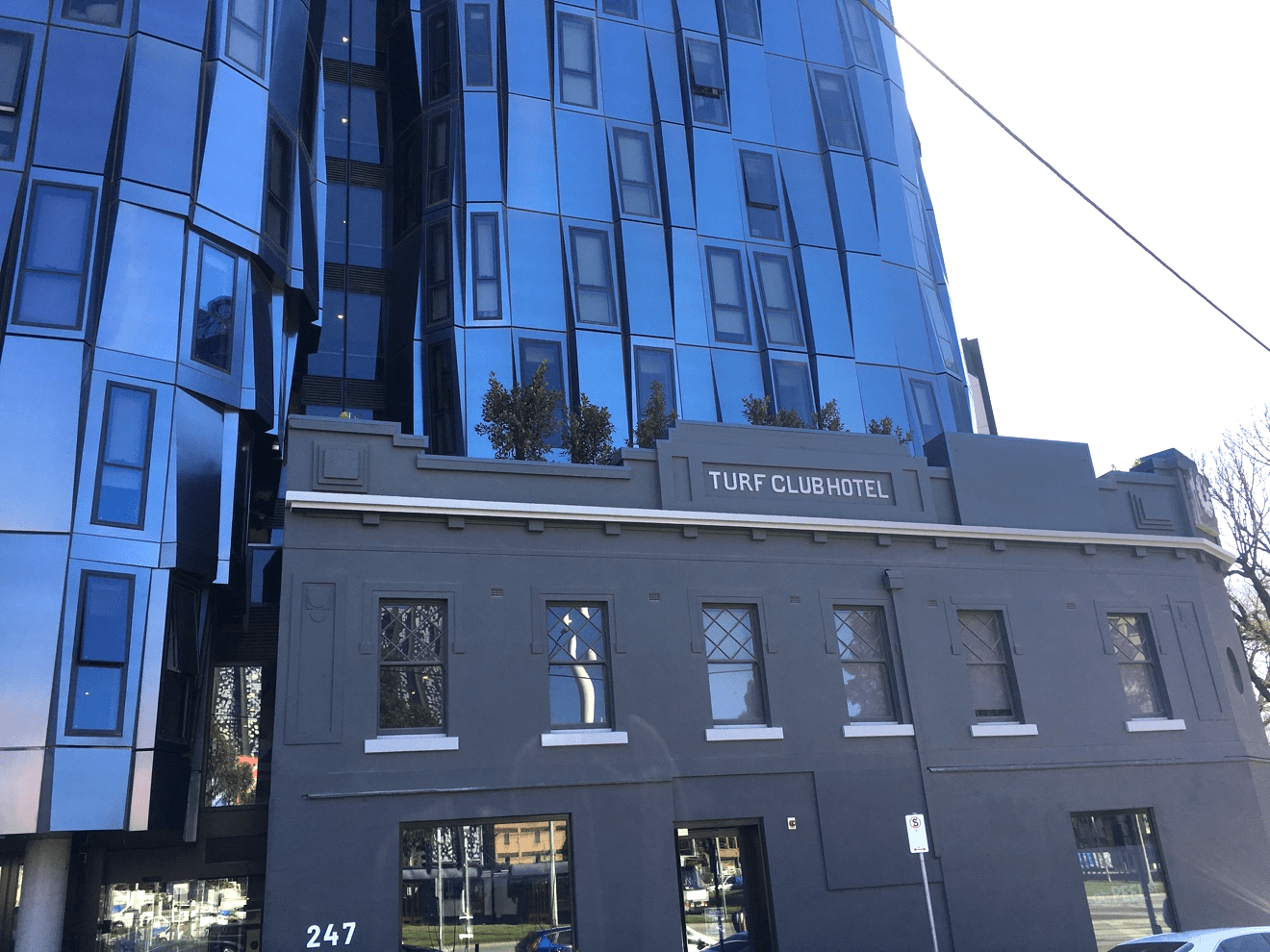Turf Club Hotel façade, North Melbourne – Photo by Julia Frecker