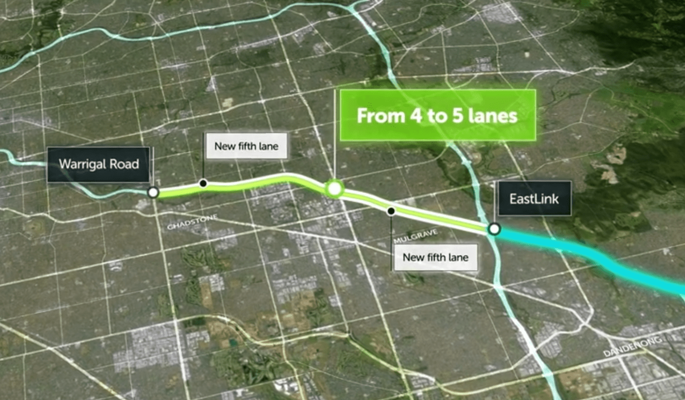 The Monash Freeway widening juggernaut rolls on, has anyone in government thought of alternatives?