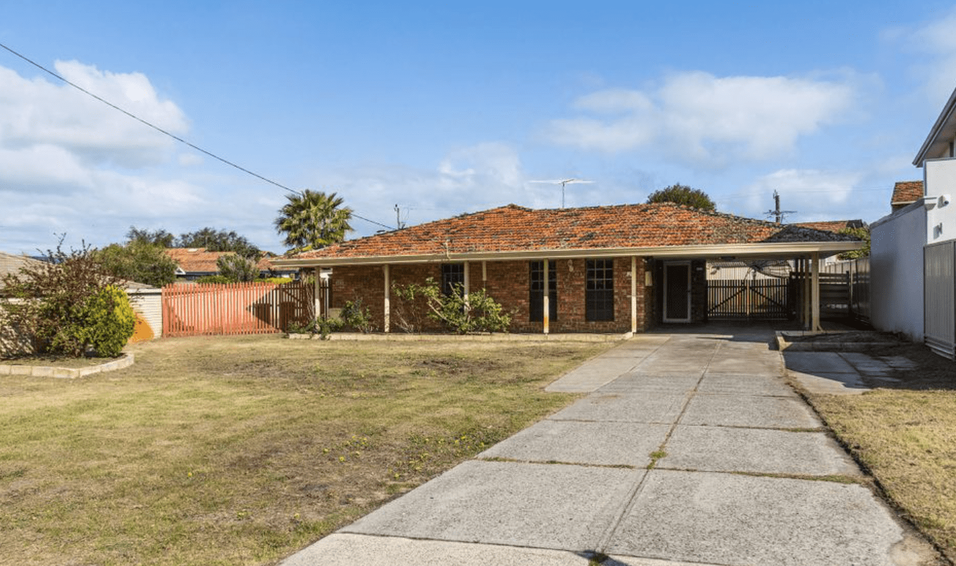 Booragoon, WA home listed for mortgagee auction