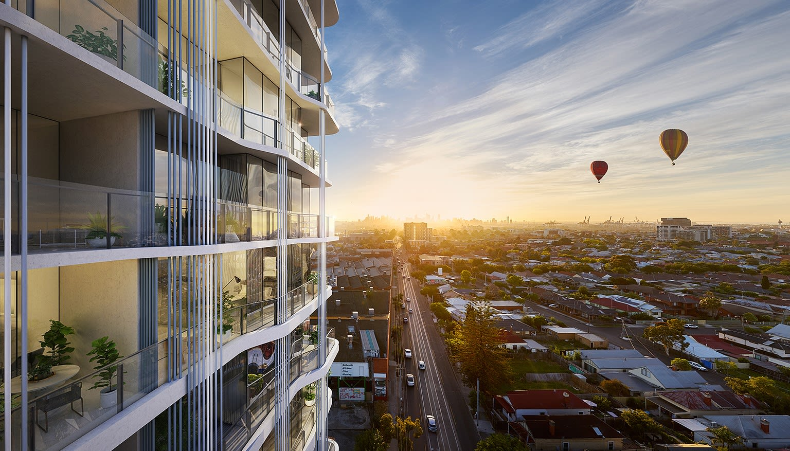 Footscray's first Live City development tops out