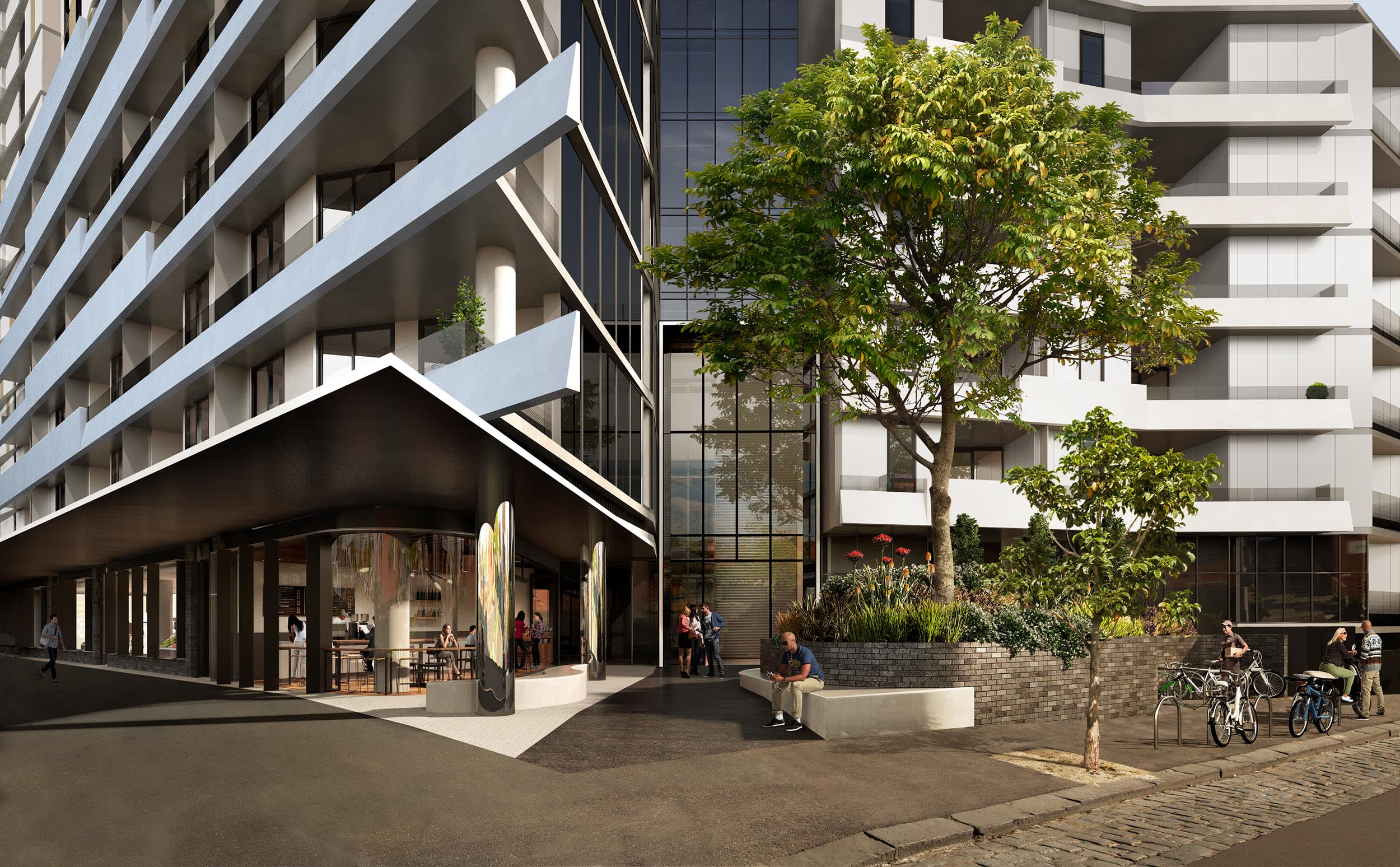 Urban TV: Andrew Potter from Cbus Property on West Melbourne's Volaire