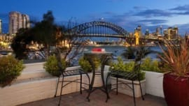 Harbour bridge backdrop in Lavender Bay yields 4.4% annual growth
