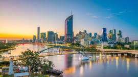 Brisbane's unit rental falls were the smallest across the nation in 2020